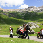 Obstacle-free Swiss Hikes