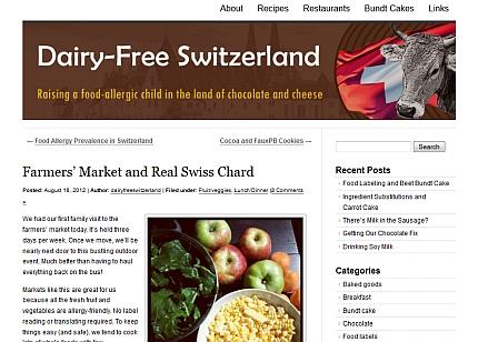 Dairy-Free Switzerland