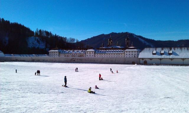 Winter Fun Not Far from Zurich: Einsiedeln