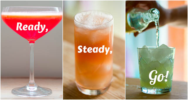 Ready, Steady, Go! Three Fun Summer Cocktails To Quench Thirst and Delight