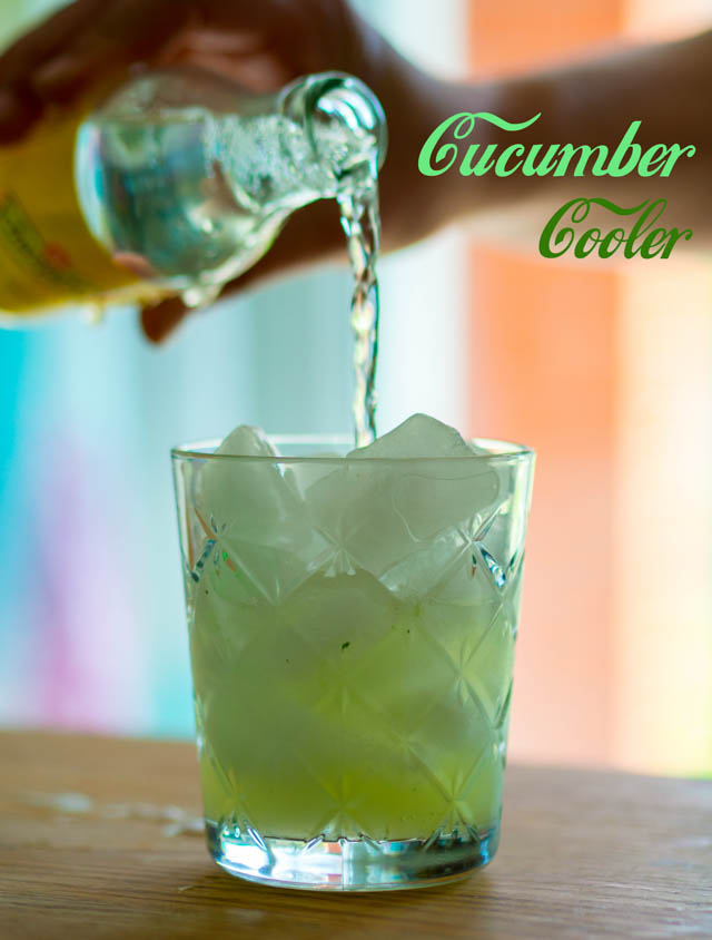 Ready, Steady, Go! Three Fun Summer Cocktails To Quench Thirst and Delight - Cucumber Cooler