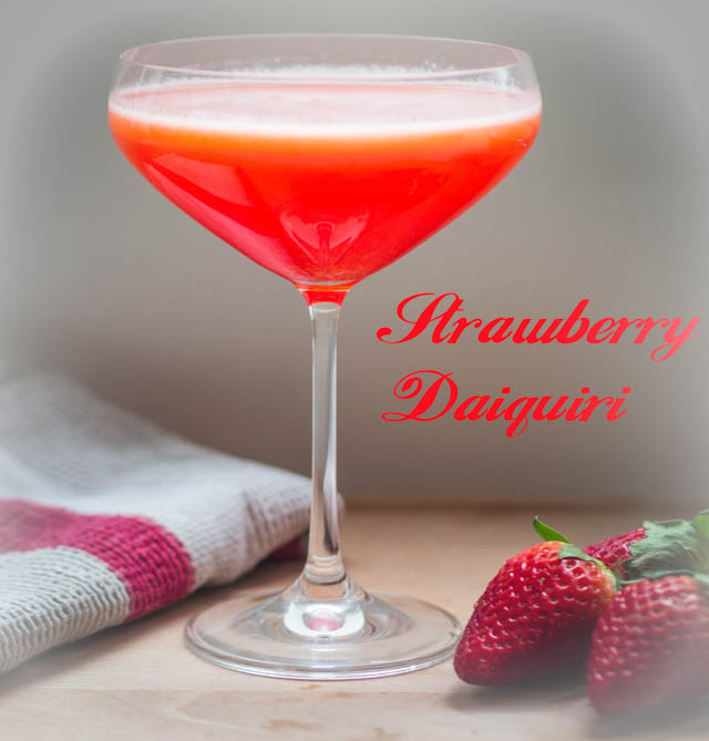 Ready, Steady, Go! Three Fun Summer Cocktails To Quench Thirst and Delight - Strawberry Daiquiri Mocktail