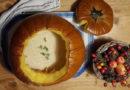 Hearty Baked Pumpkin Soup