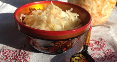 Easy Ukrainian Sauerkraut