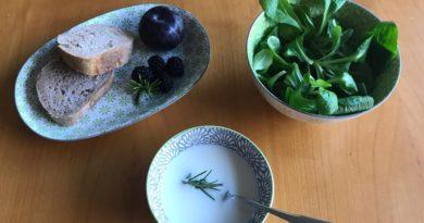 Autumn Wine Cream Soup